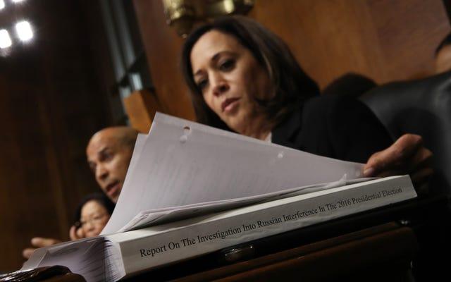 トランプはカマラ・ハリス上院議員を「厄介」と呼んでいます。ハリスは答える