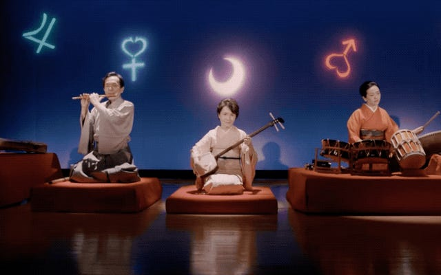 ธีมเซเลอร์มูนในเครื่องดนตรีญี่ปุ่นแบบดั้งเดิม