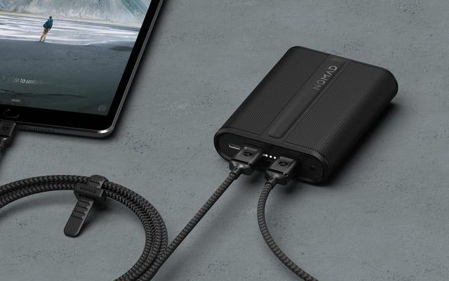 घुमंतू का पावरपैक USB-C और टाइल में पैक करता है