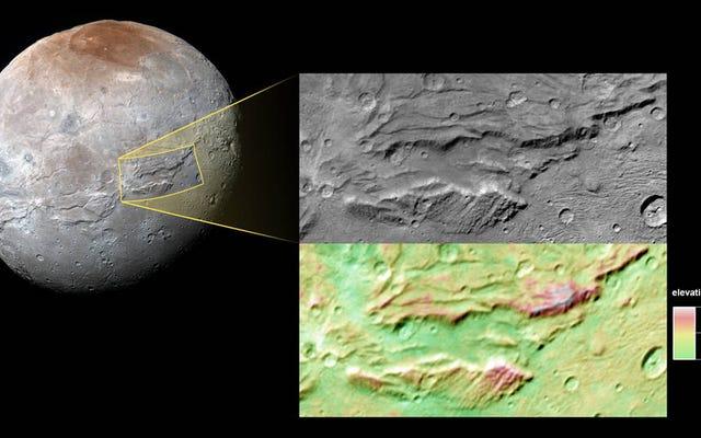 Cada vez hay más pruebas de que la luna más grande de Plutón tenía un océano enorme