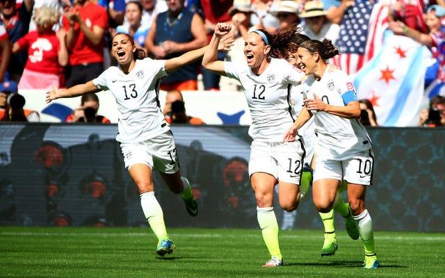 Toda la selección femenina de Estados Unidos demanda a US Soccer por igualdad salarial
