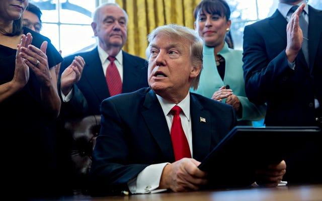 大統領が暴かれた最初の10日間のトランプのほら話、嘘、誇張