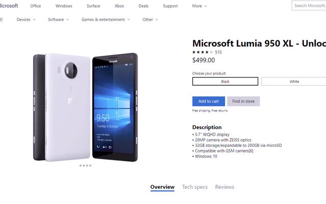 マイクロソフトは、いくつかの理由で、古いルミアスマートフォンを再び販売しています