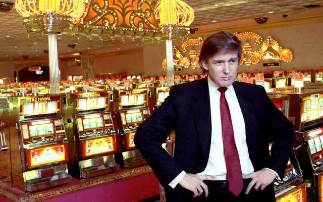 Vea un breve documento sobre las fallas de Trump en los casinos de Atlantic City de los directores de Get Me Roger Stone