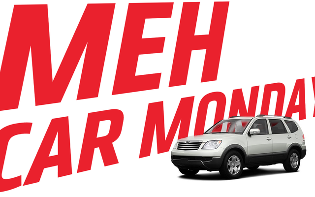 Meh Car Monday: Le Kia Borrego était un SUV intéressant qui était Meh-Rdered