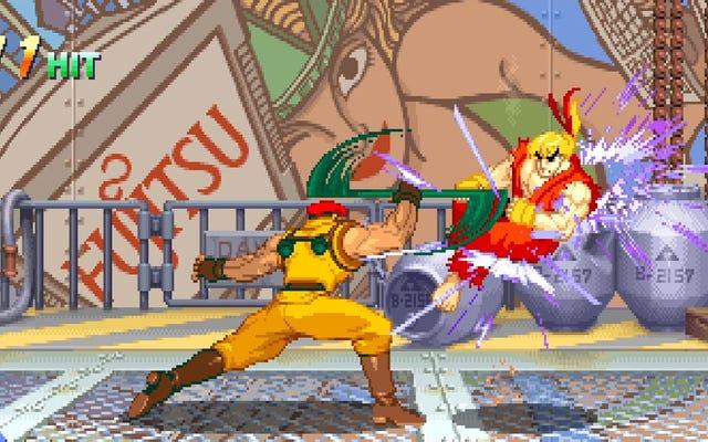 25 anni dopo, il giocatore conferma che Street Fighter Alpha 2 favorisce davvero il perdente