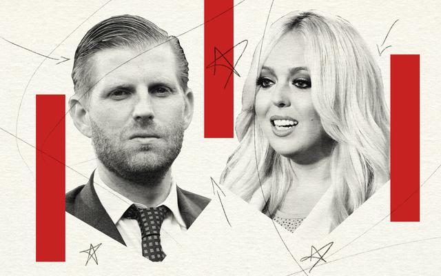 Eric y Tiffany Trump, los 'otros' niños, fueron igualmente cómplices