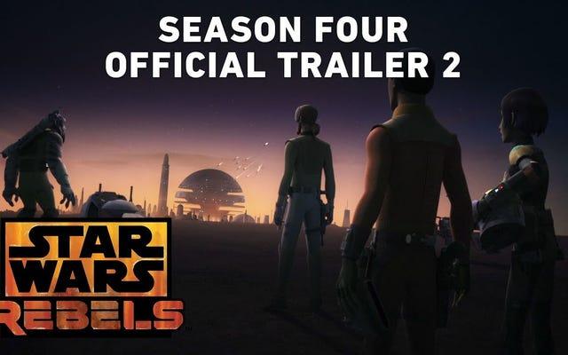 El nuevo tráiler ve a Star Wars: Rebels volviéndose pícaro en su última temporada