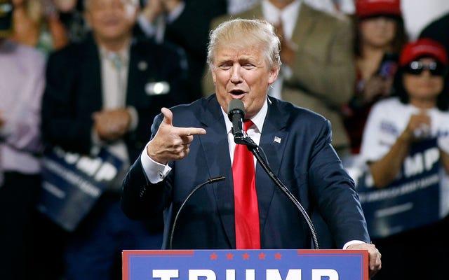 レポート:ドナルド・トランプが共和党全国大会のスポーツディックヘッドのキャストをまとめる