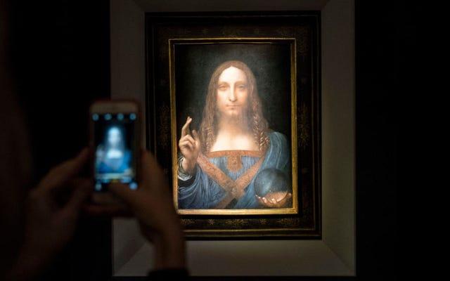 Qualcuno ha speso quasi mezzo miliardo di dollari per un dipinto da Vinci forse non autentico