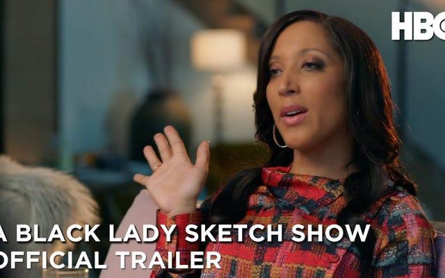 みんなとそのママはブラックレディスケッチショーシーズン1の予告編にいます。私たちはそれを見るのが大好きです