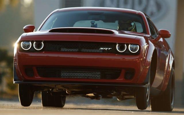 Dealer Dodge Menghindari Aturan Markup Untuk Setan Dengan Lelang