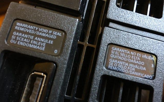 Vous pouvez réparer vos propres appareils électroniques sans annuler la garantie