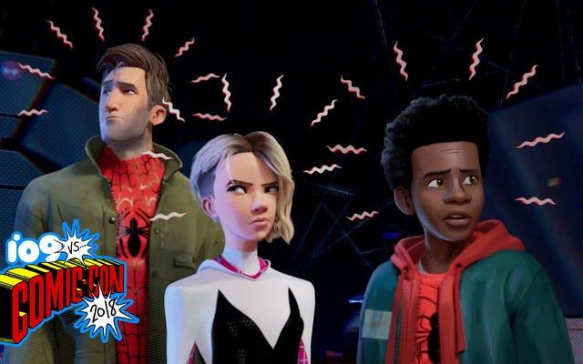 El video de Spider-Man: Into the Spider-Verse Comic-Con fue absolutamente increíble