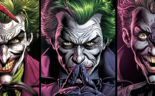 DCの3人のジョーカーコミックがバットガールとレッドフードの最も壊滅的なトラウマを再訪します