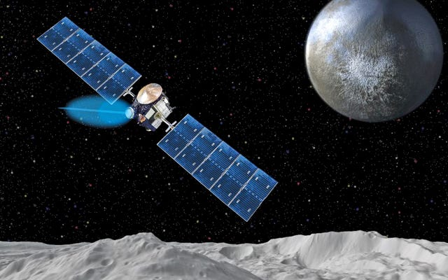 これが私たちを矮星惑星セレスに連れて行ったイオンエンジンがどのように機能するかです
