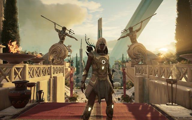 Assassin's Creed Odyssey's Final płatny dodatek jest niesamowity, jeśli lubisz dziwne rzeczy
