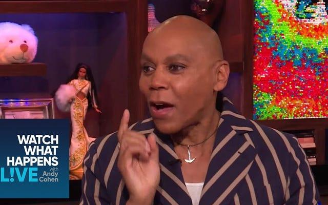 RuPaul dit que Donning Drag au gala du Met l'aurait fait dire