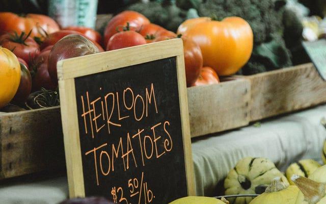 あなたが必然的に安っぽいトマトを買うとき何をすべきか