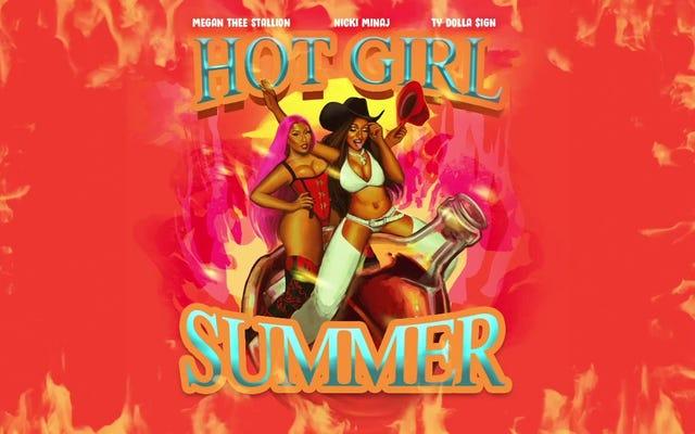 Megan Thee Stallion, Nicki Minaj i Ty Dolla $ ign zapraszają nas na przejażdżkę łodzią na Hot Girl Summer