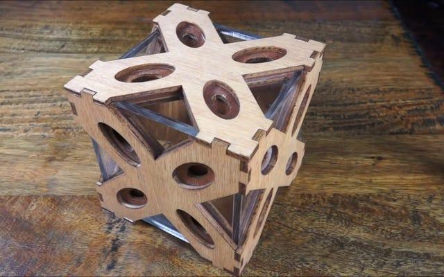 この箱は開けるのがとても難しいので、それを手に入れるには42のステップを覚えておく必要があります