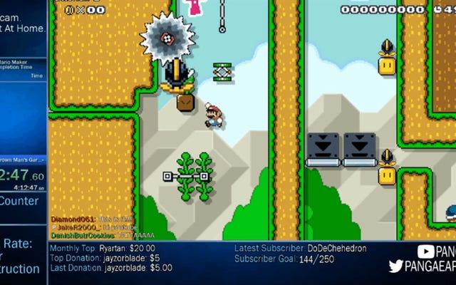 El jugador de Mario Maker crea un nivel tan sucio que termina trolleándose a sí mismo