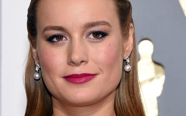 La ganadora del Oscar Brie Larson está en conversaciones para interpretar a la Capitana Marvel