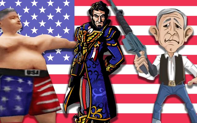 Niektórzy z najdziwniejszych prezydentów z życia wziętych pojawili się w grach wideo