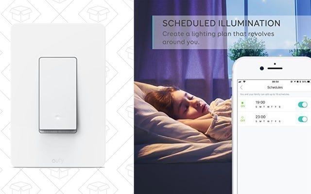 Добавьте смартфон и голосовое управление к выключателю света за 17 долларов