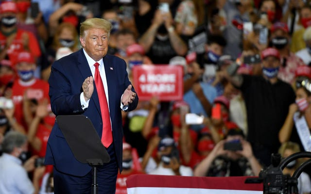 Trump Thee Dicktator cree que se le debe un tercer mandato como presidente porque los demócratas arruinaron el primero
