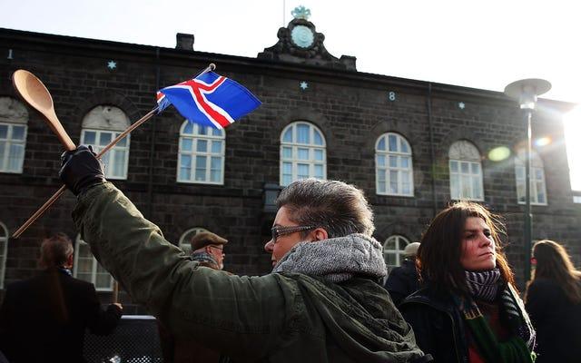 アイスランドは、同じ仕事に対して女性よりも男性に支払うことを違法にしました