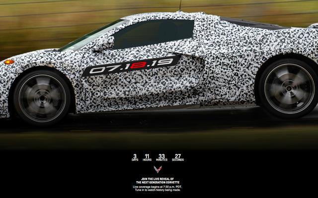 Tout ce que nous savons sur la Corvette C8 à moteur central 2020 jusqu'à présent