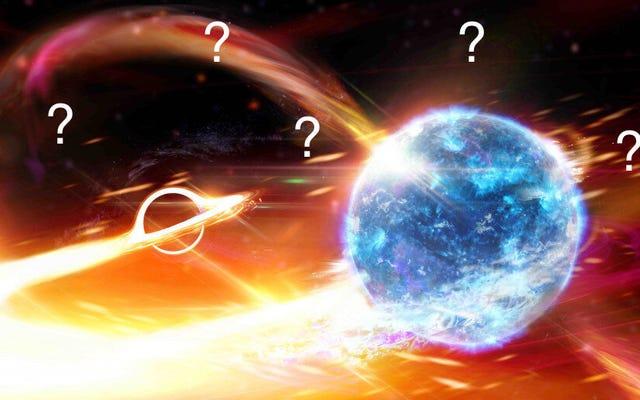 時空で新たに検出された波紋の周りに謎が深まる