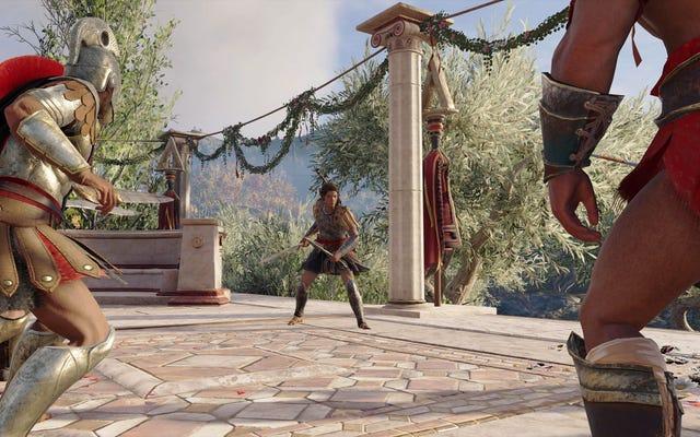 Nuestra búsqueda del mejor escenario de dificultad de Assassin's Creed Odyssey [Actualizado]