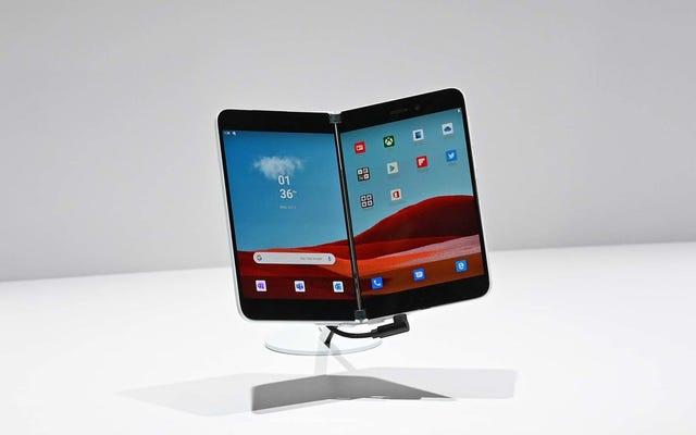Bộ đôi Surface hai màn hình của Microsoft có thể ra mắt sớm hơn dự kiến