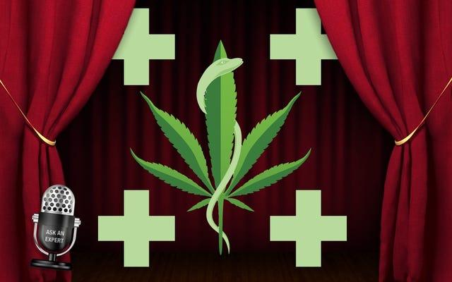 専門家に尋ねる:医療用マリファナのすべて