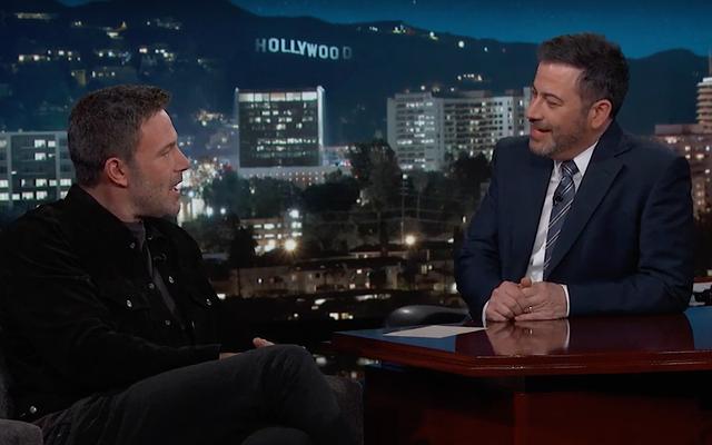 Ben Affleck se atraganta al explicar cómo Adam Driver salvó el cumpleaños de su hijo