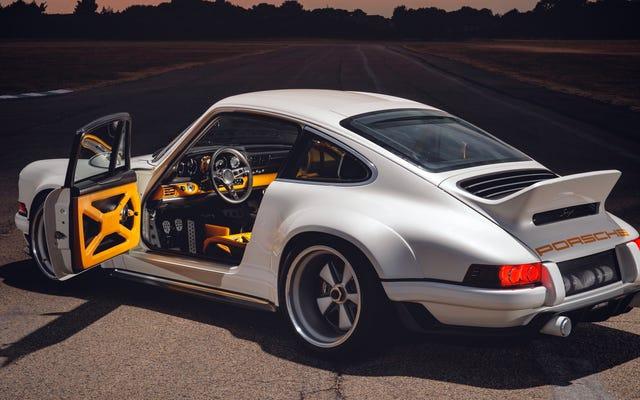 Ca sĩ-Williams DLS là Tầm nhìn bằng sợi carbon tối ưu của Porsche 911