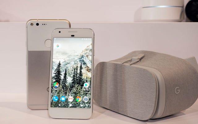 Parlons de l'année folle de Google dans le matériel