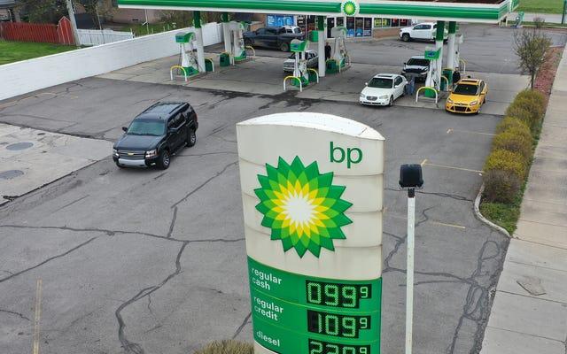 Entah bagaimana BP mendapat untung dari semua ini