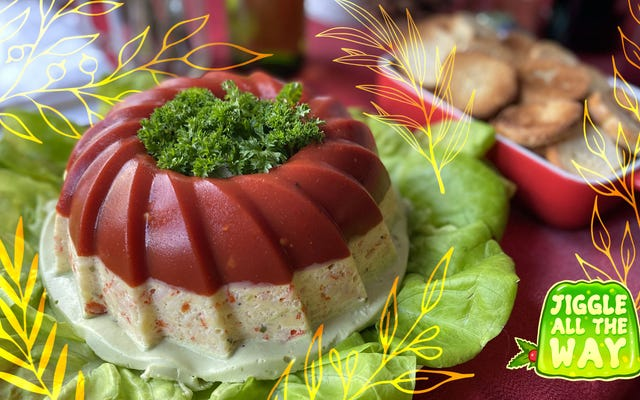 Cédez aux savoureux moules Jell-O. Préparez une salade de ruban de Krab.