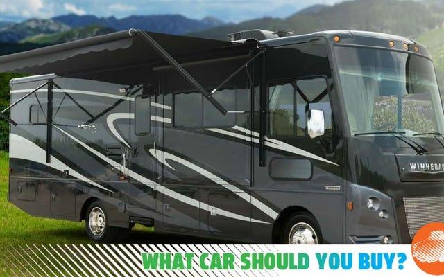 ジープではないRVの後ろを牽引するには、オフロードライドが必要です。どの車を買うべきですか?
