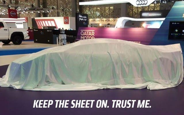 カタール初のスポーツカーが発表されましたが、それはそれほどホットなアイデアではなかったのかもしれません