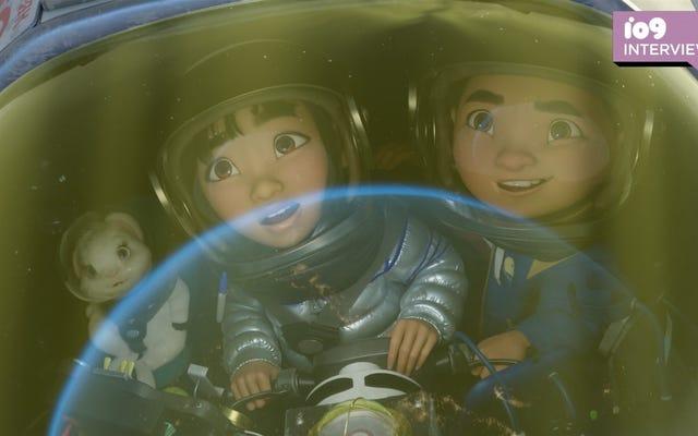 Comment la lune a changé la perspective d'une légende de Disney sur l'avenir de l'animation