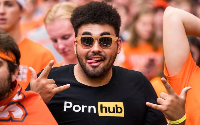 Tienes que votar o mentir para visitar Pornhub el día de las elecciones