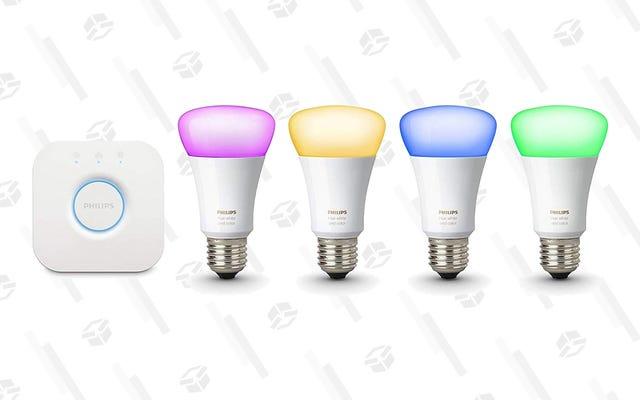 Ilumina tu vida con este set básico Philips Hue de $ 120