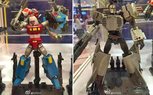 ฉันอายุหกขวบกำลังน้ำลายไหลกับ Gobots ชิ้นเอกที่มีรายละเอียดสูงมากเหล่านี้