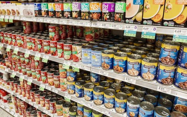 栄養士によると、最も健康的で最悪の缶詰および調理済み食品