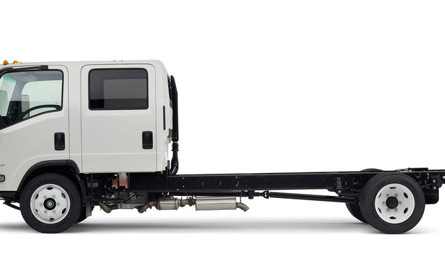 このフラットフェイスのユーティリティトラックはとても美しいです