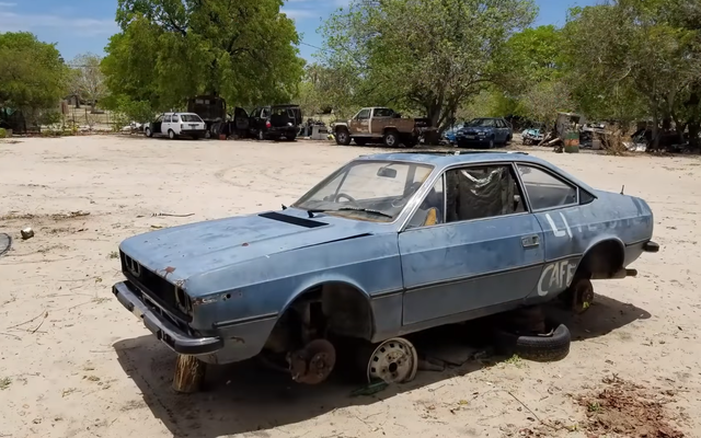 Se ha encontrado el Lancia Beta del 'Top Gear Botswana Special'